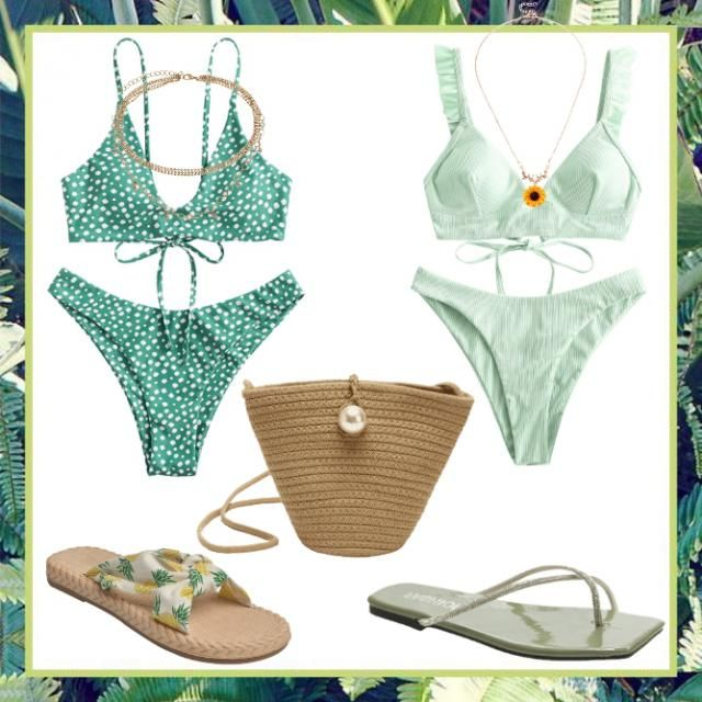 💚Two beach outfits💚