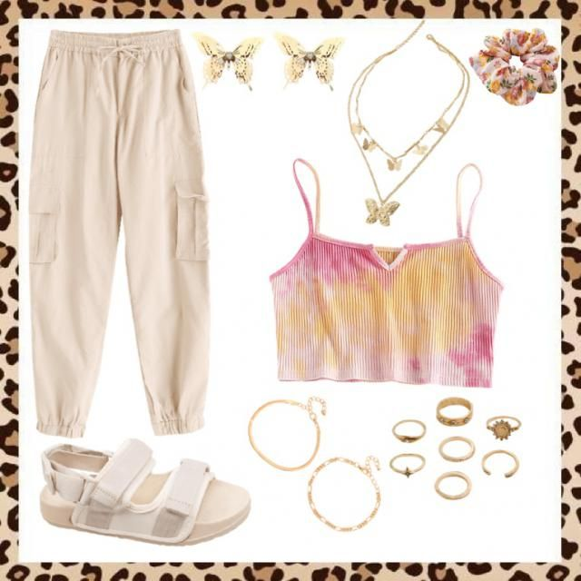 summery vibe with gold jewelry so u can be bougée