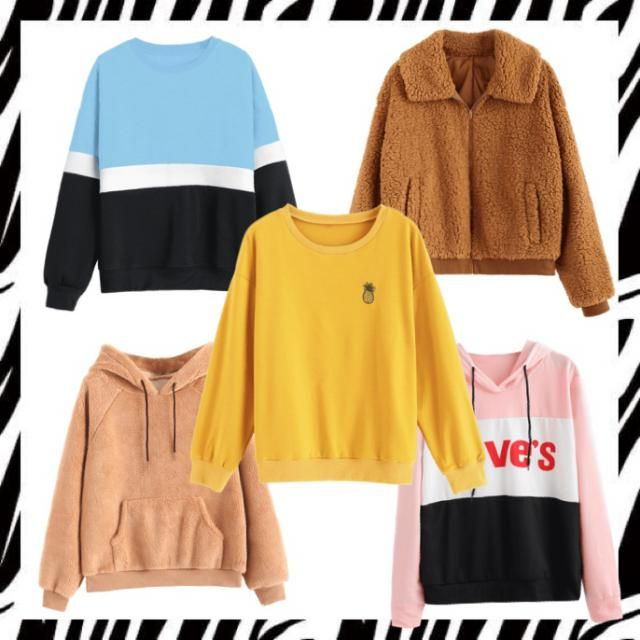 These sweaters are just what you need to stay stylish and comfy while camping or to stay warm on a cold day