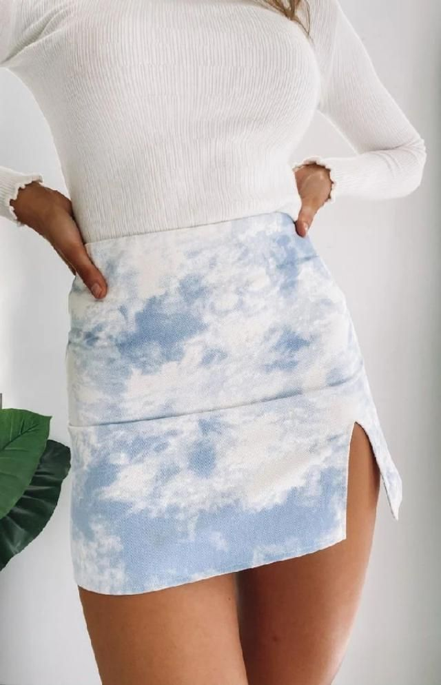 Front slit skirts are pretty amazing combined with almost everything! | | |