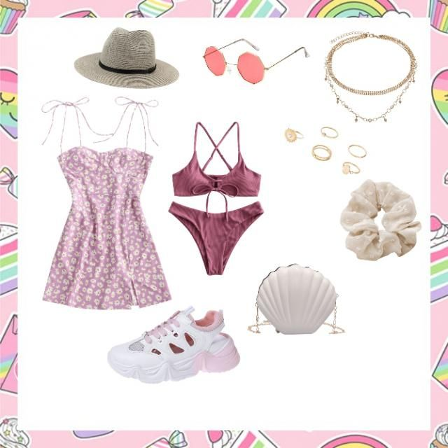 outfit for the beach!