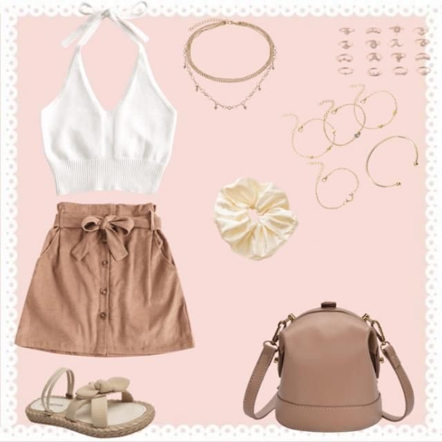 A fun outfit to wear on an outing with friends