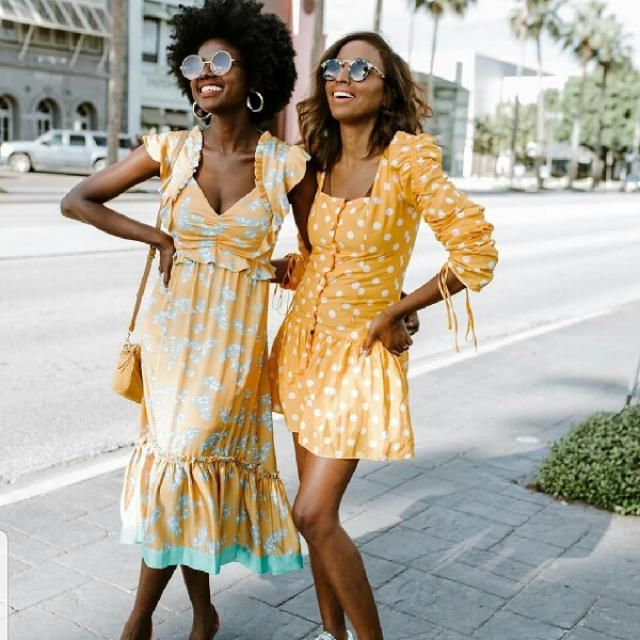 the great thing about yellow dress, is the timeless look that never goes out of fashion