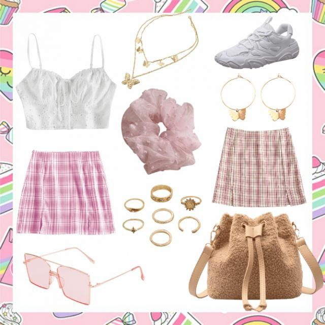 Pink/Pastel Outfit 💜🤍