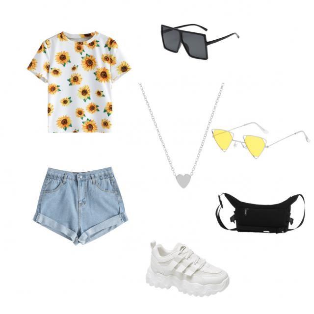 Sunflower baddie