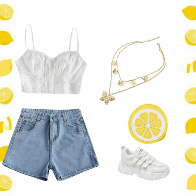 This outfit would be perfect for Summer!