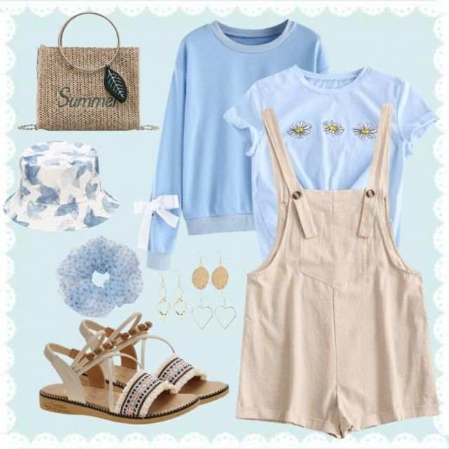 Sweet Blue Outfit!! Who&;s with me??