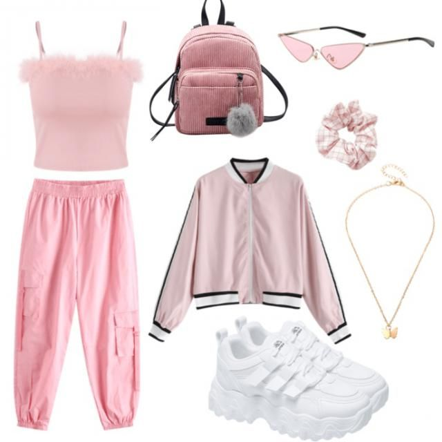 90s baby pink 🌸👛💕