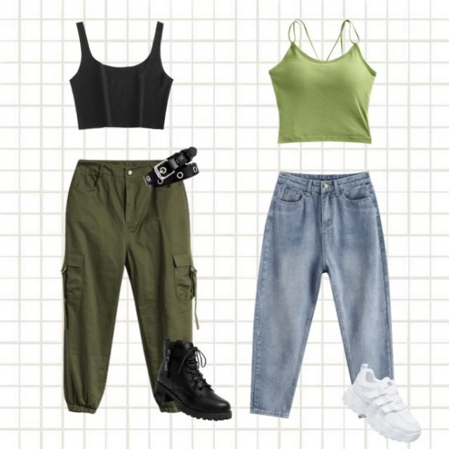 Kim Possible Outfits
