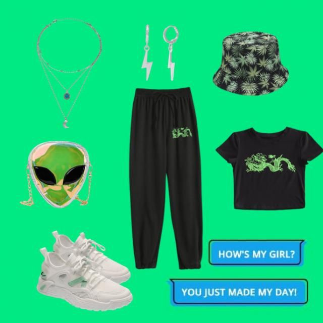 Alien Invasion🐸🍀💚