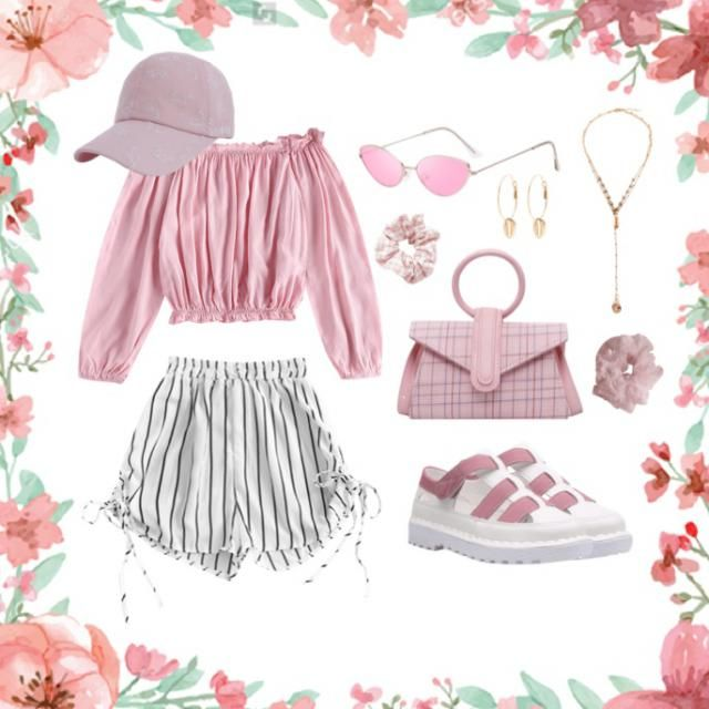 all pink look! If you like it leave a like!