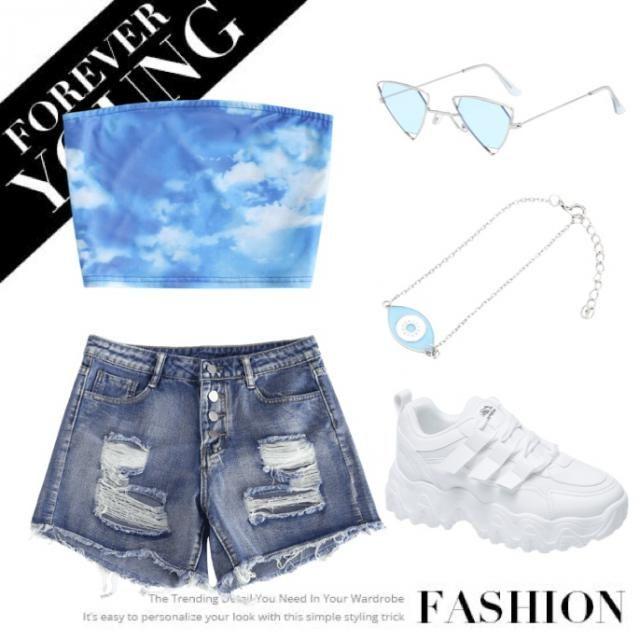Love ZAFULs blue summer collection🦋