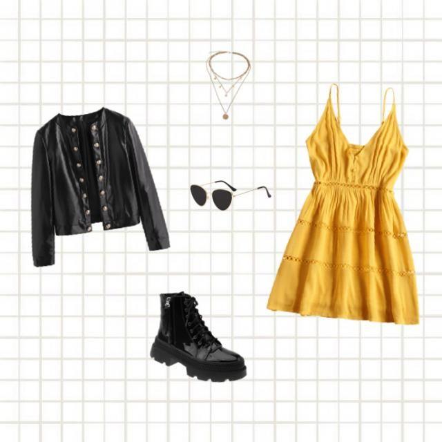 Yellow dress 🌞