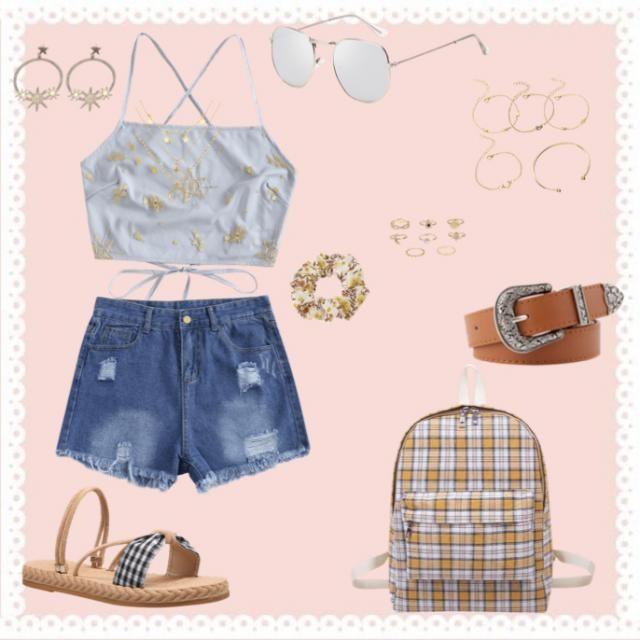 a cute popular summer outfit