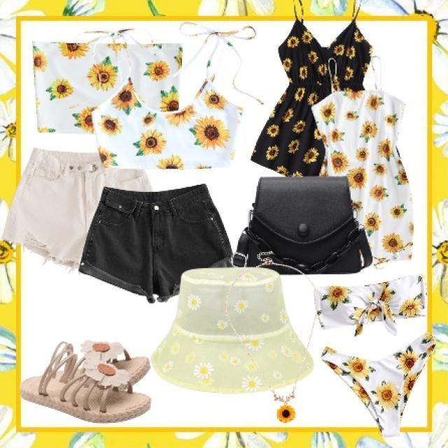 oufits sunflower