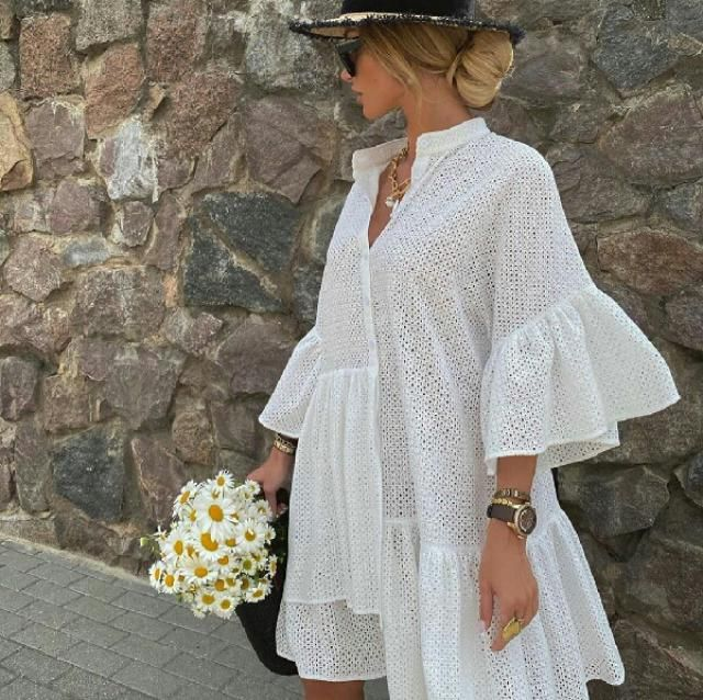 A lovely and comfy dress for vacations