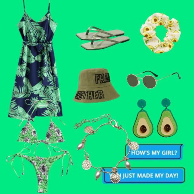 Oufit green