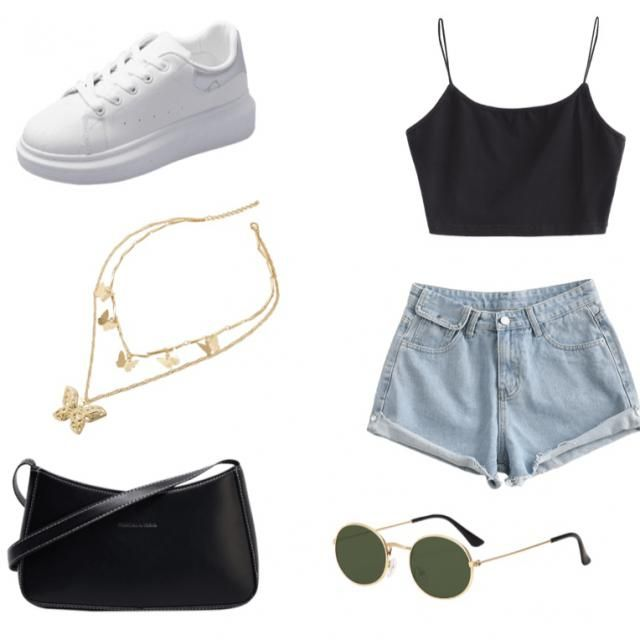 Summer style , casual day