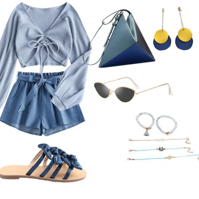 THE blue outfit of 2020, what's your favourite item?❤️