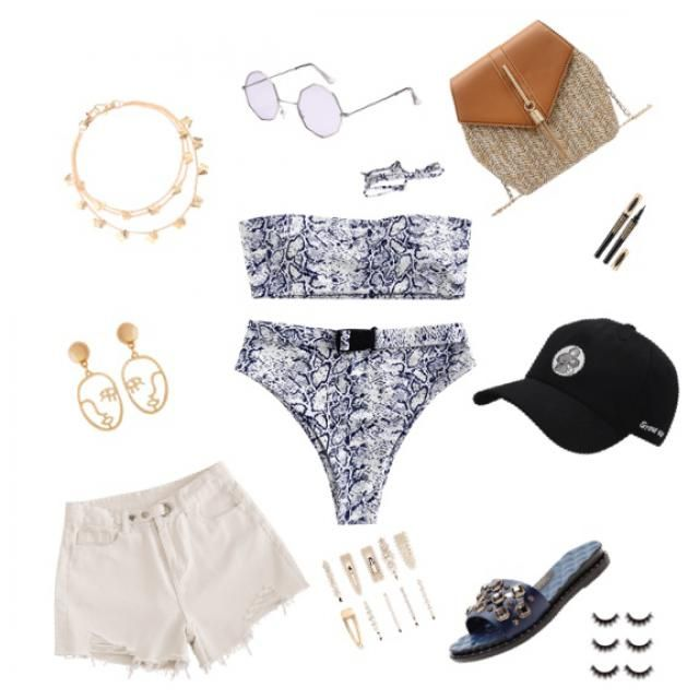 The perfect beach look