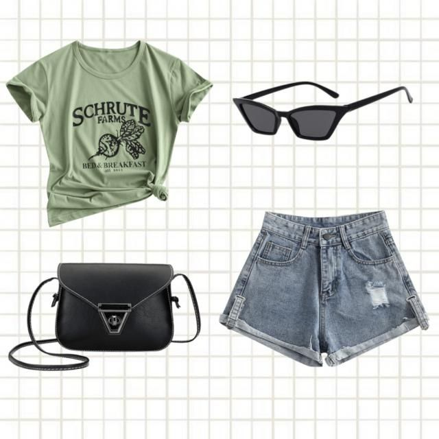 Girls! a cool look for you.