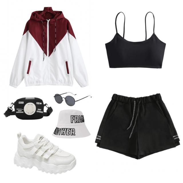 Sporty streetchic look
