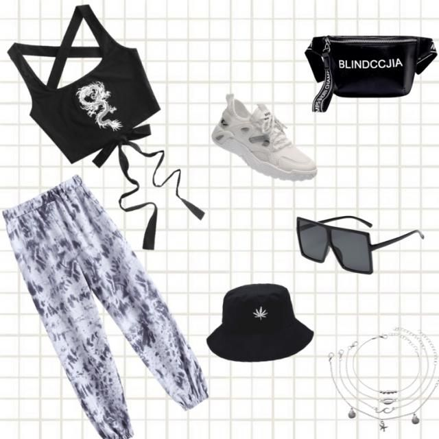 Cute, Comfy Streetwear Look