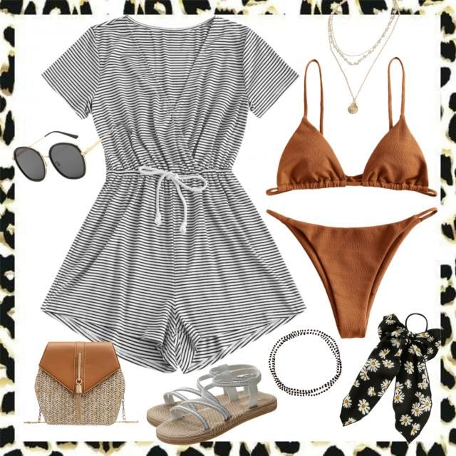 Beachy Orange Vibes. ☀️⛱