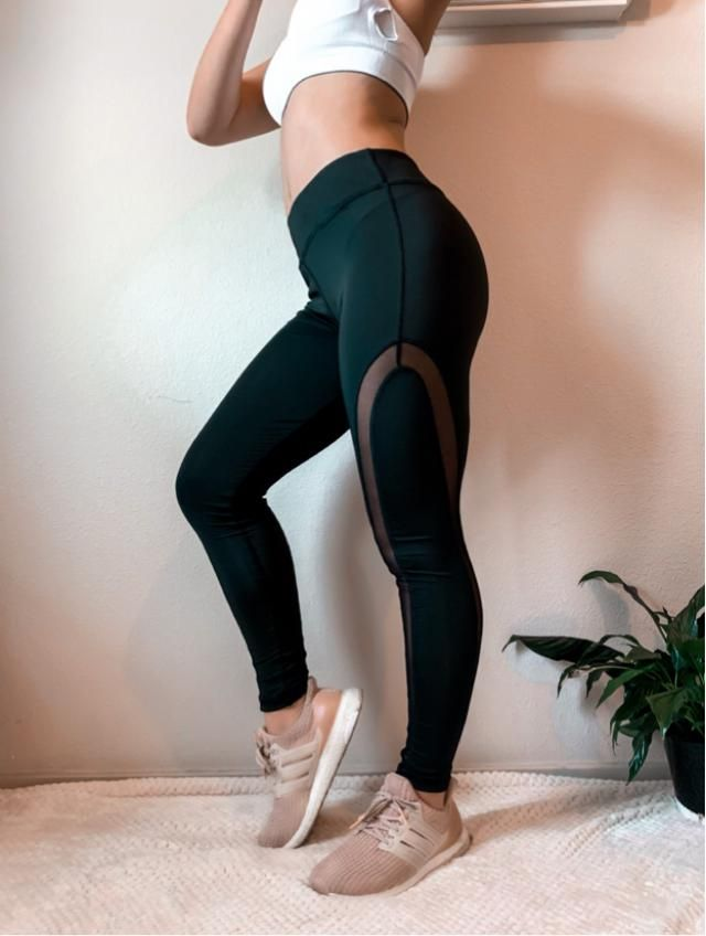 These are a staple pair of leggings for your wardrobe. I love how they are traditional black leggings with real…