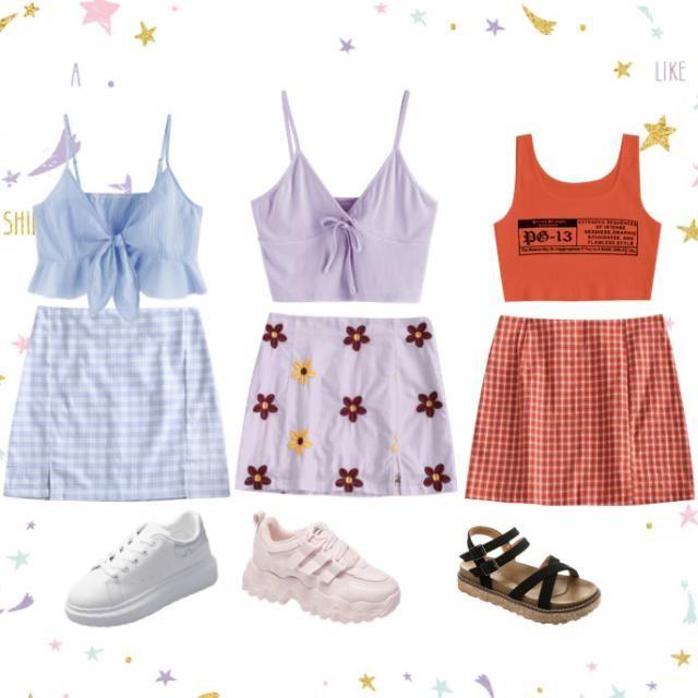 Cute summer girl fits😍
