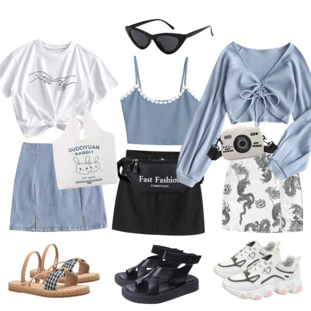 3 cute outfits