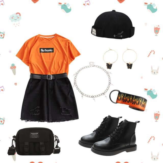 &White     &Orange                              &Orange  &White