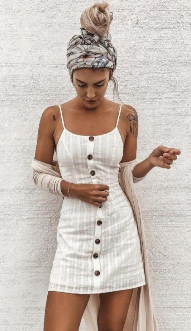 Button Up dress | | |