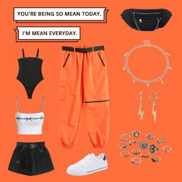 Cute street ware fits for the summer! 👀