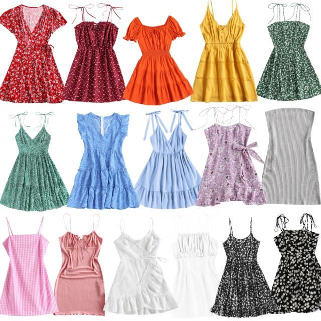 some cute dresses for the summer