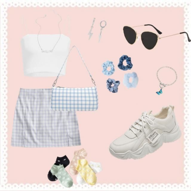 A super cute outfit to wear on a day with friends