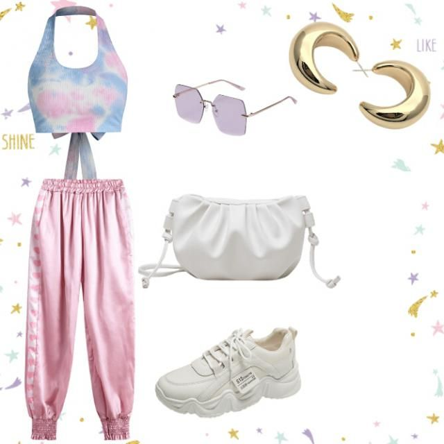 perfect athlesuire outfit for a fun birthday party or concert