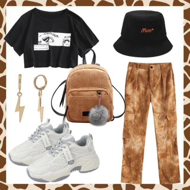 Cool casual look