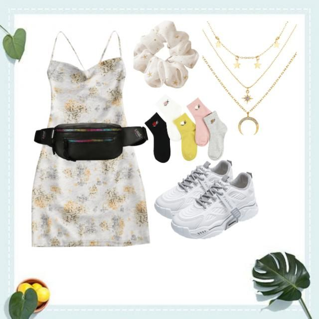 casual look-for girls that likes aesthetic look i guess.For girls like a girlish style(looks)