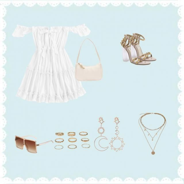 A cute and hot outfit for everyone!