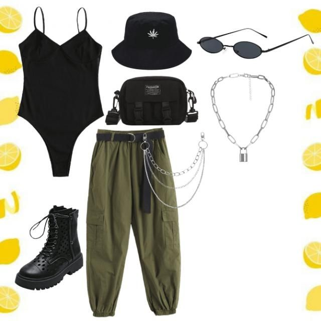 this outfit is for summer.If you are type of woman that likes strong outfit or what i mean cartoon fighter looks this o…