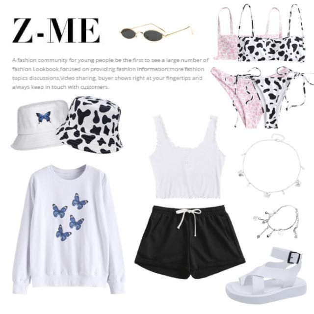 • • I give u the option to choose between the cow print 🐄 or the butterflies 🦋 it comes with accessories to…