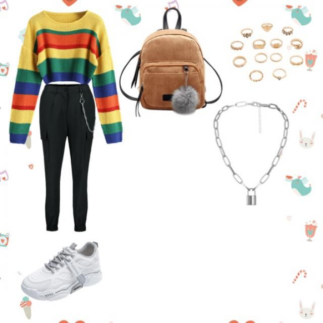 Just a cute outfit for a day on the city