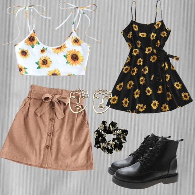 Cute floral outfit! Do you like flowers?