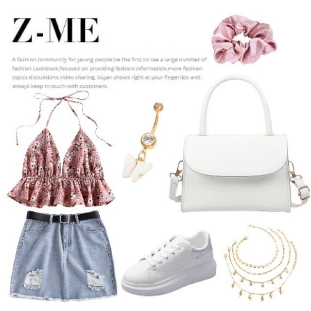 outfit perfecto para un verano asombroso y divertido...😊💛☀️