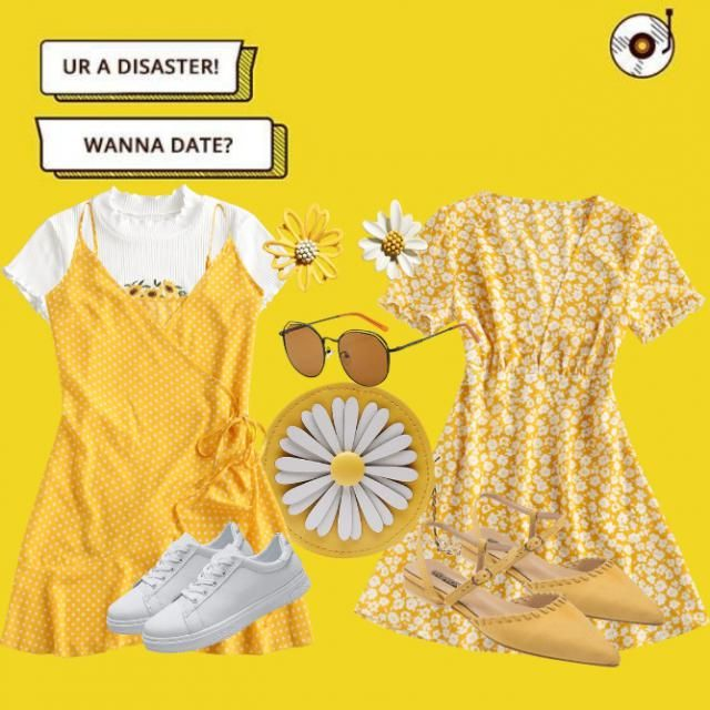 As a ruler of the sun!! Leo babies would definitely slay these outfits on their date ☀️♌😉