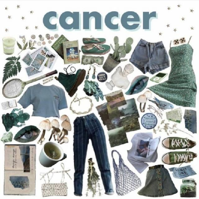 Cancer ♋🍒  Cancers usually dress according to their mood, so their style is forever changing, and could be comp…
