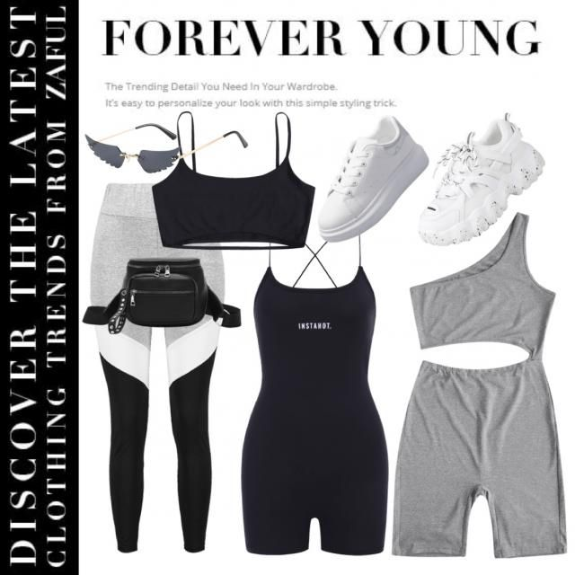 SCORPIO's workout outfit!  🖤🖤🖤