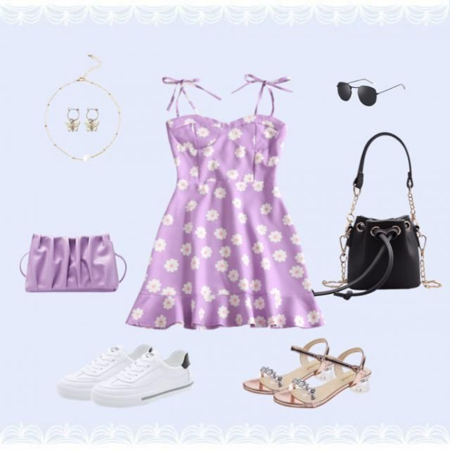 Perfect outfit for a  on a sunny day!