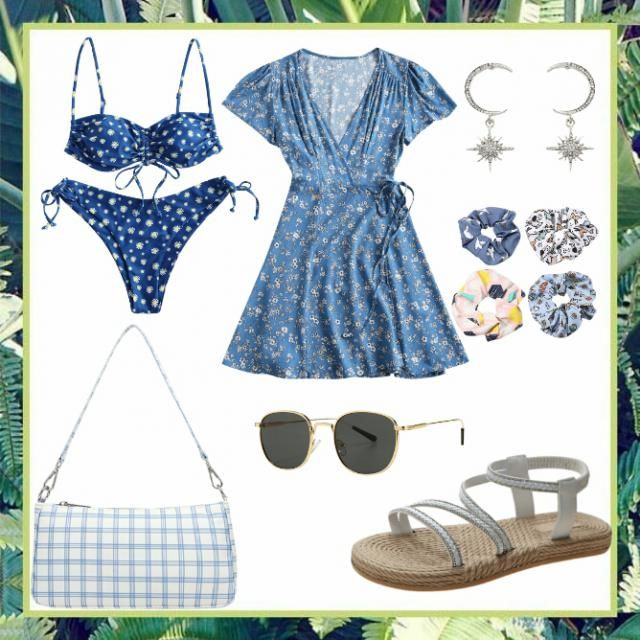 We love  a good pool or beach day, even if we cant go we can still be in style!